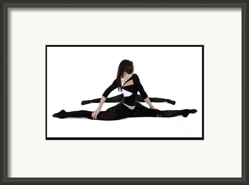 The Gymnast Framed Print By Pierre-jean Grouille