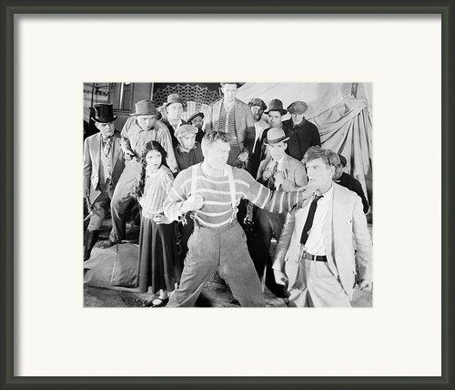 The Happy Warrior, 1925 Framed Print By Granger