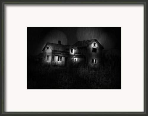 The Haunted Side Framed Print By Emily Stauring