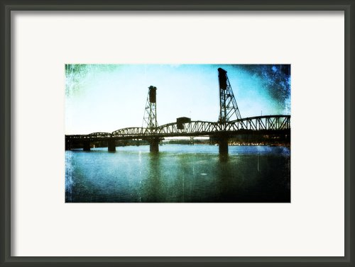 The Hawthorne Bridge Framed Print By Cathie Tyler