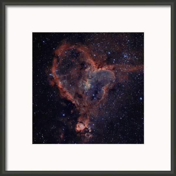 The Heart Framed Print By Charles Warren