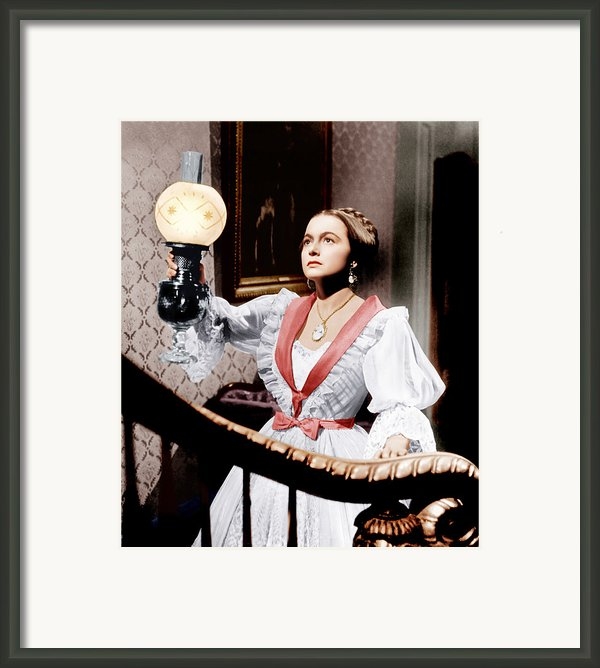 The Heiress, Olivia De Havilland, 1949 Framed Print By Everett