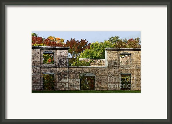 The Hermitage Framed Print By Barbara Mcmahon