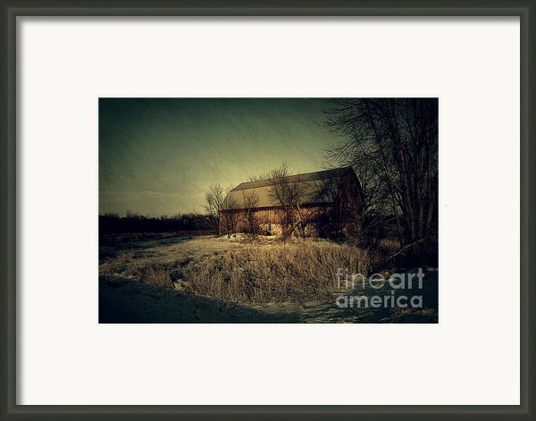 The Hiding Barn Framed Print By Joel Witmeyer