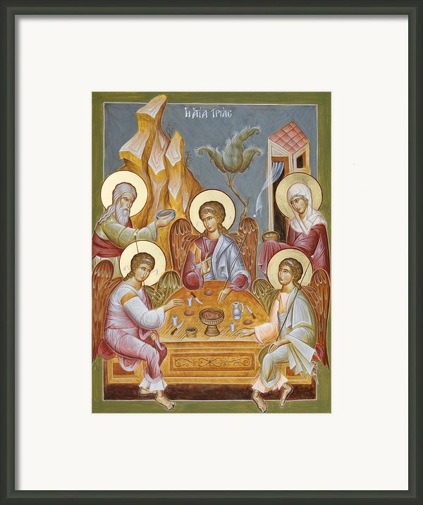 The Holy Trinity Framed Print By Julia Bridget Hayes