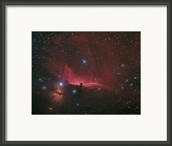 The Horsehead Nebula Framed Print By Charles Warren