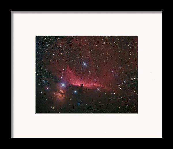 The Horsehead Nebula Framed Print By Charles Warren