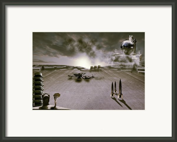 The Industrial Revolution Framed Print By Nathan Wright