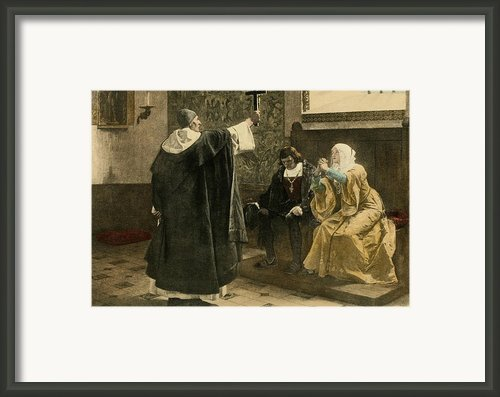 The Inquisitor-general, Tom�s De Framed Print By Everett