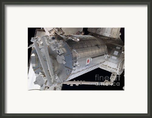 The Japanese Pressurized Module, The Framed Print By Stocktrek Images