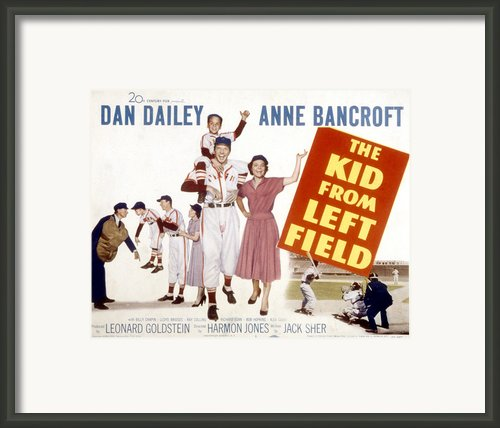 The Kid From Left Field, Dan Dailey Framed Print By Everett