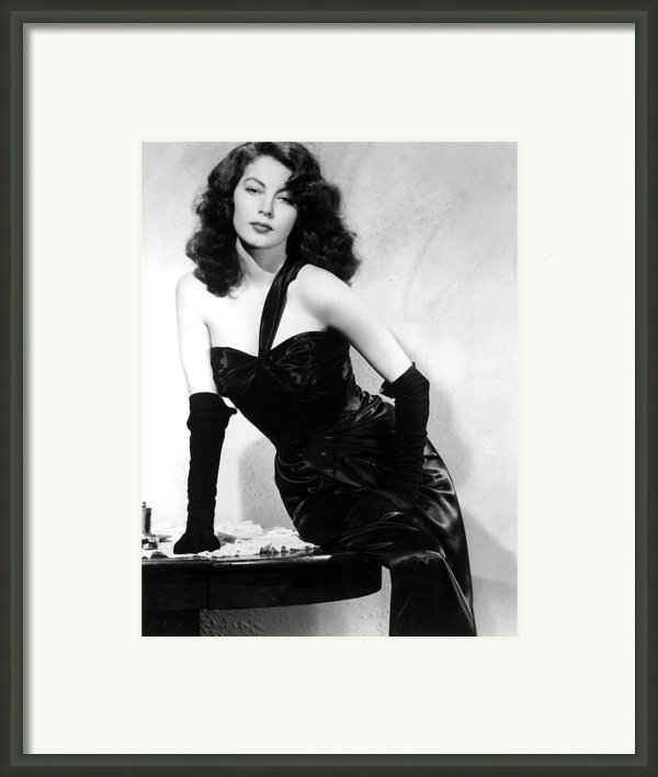 The Killers, Ava Gardner, 1946 Framed Print By Everett