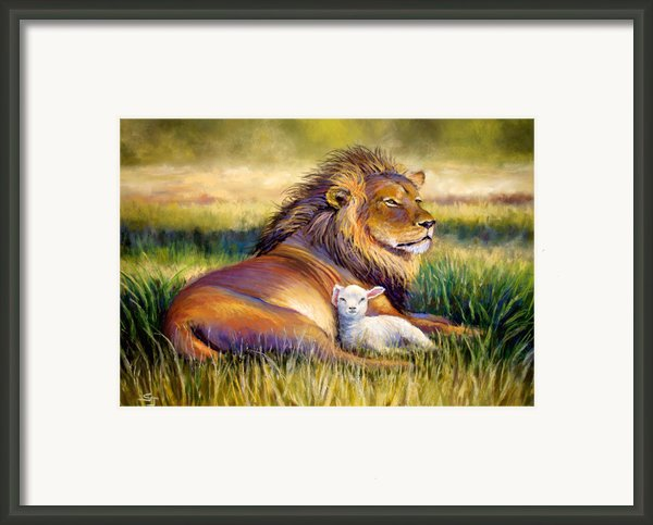The Kingdom Of Heaven Framed Print By Susan Jenkins