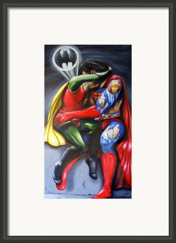 The Kiss Framed Print By Matthew Lake