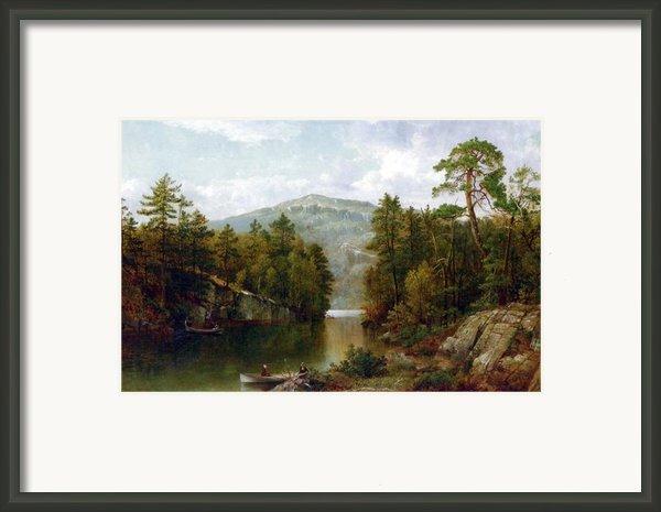The Lake George Framed Print By David Johnson