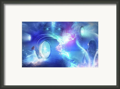 The Language Of Empathy Framed Print By Philip Straub