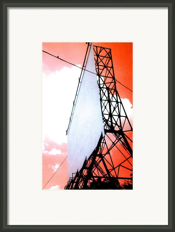 The Last Drive-in Framed Print By Darren Stein
