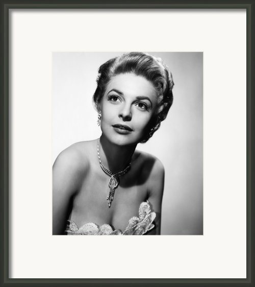 The Last Frontier, Anne Bancroft, 1955 Framed Print By Everett
