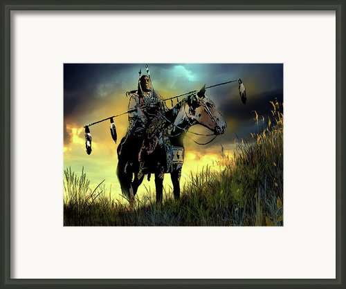 The Last Ride Framed Print By Paul Sachtleben