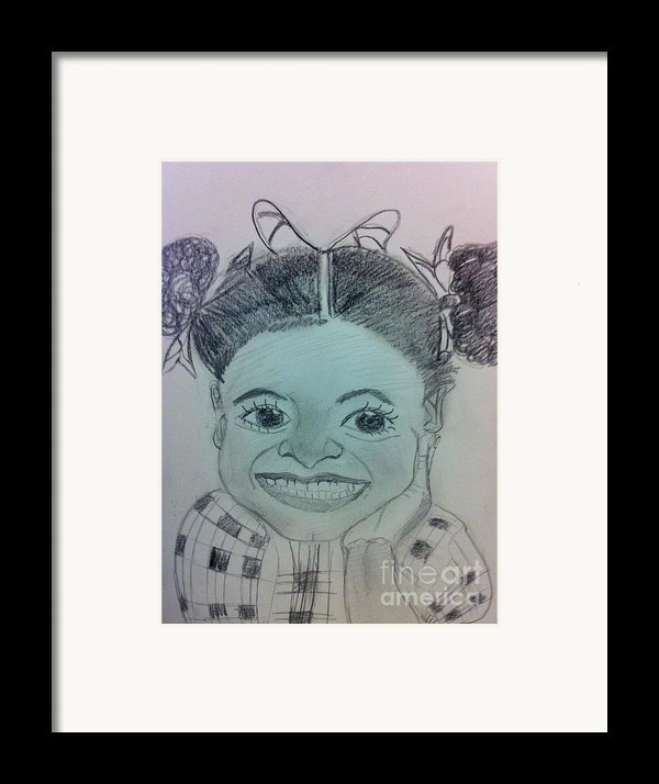 The Late Jahessye Shockley Framed Print By Charita Padilla