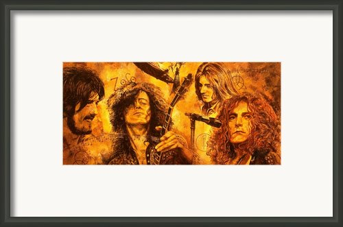 The Legend Framed Print By Igor Postash