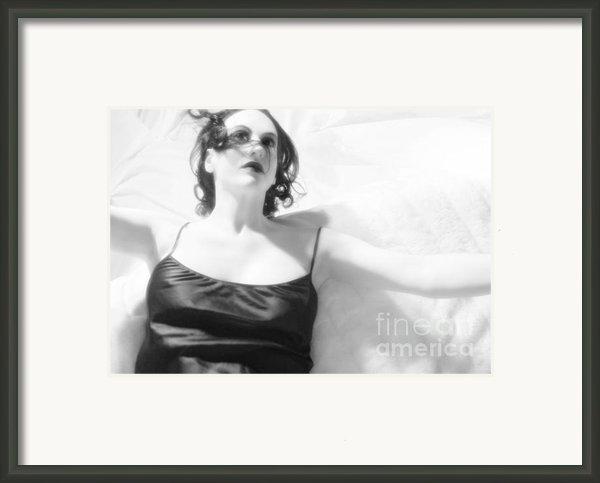 The Light - Self Portrait Framed Print By Jaeda Dewalt