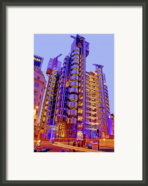 The Lloyds Building City Of London Framed Print By Chris Smith