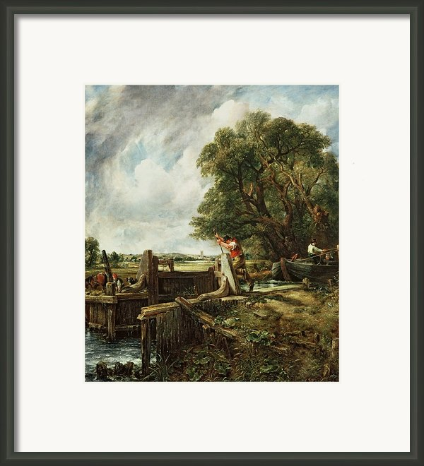 The Lock Framed Print By John Constable