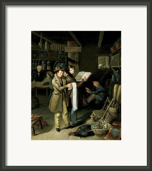 The Long Bill Framed Print By James Henry Beard