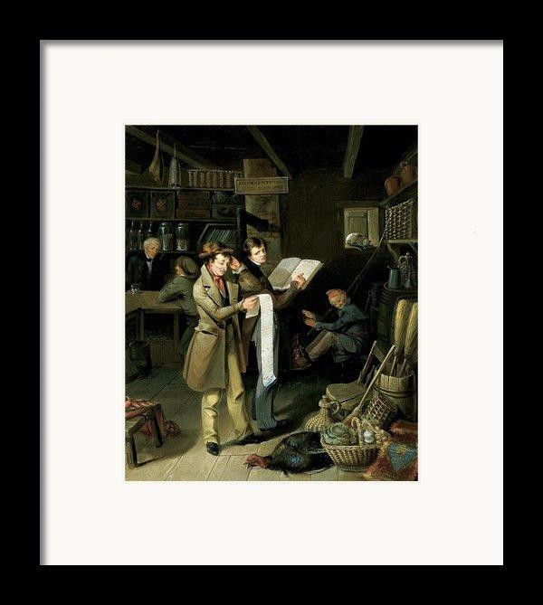 The Long Bill Framed Print By James Henry Beard