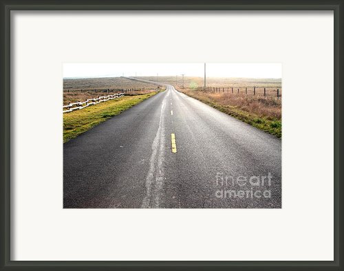 The Long Road Home . 7d9903 Framed Print By Wingsdomain Art And Photography