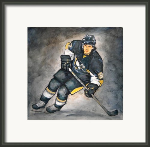The Look Of A Champion Framed Print By Erik Schutzman