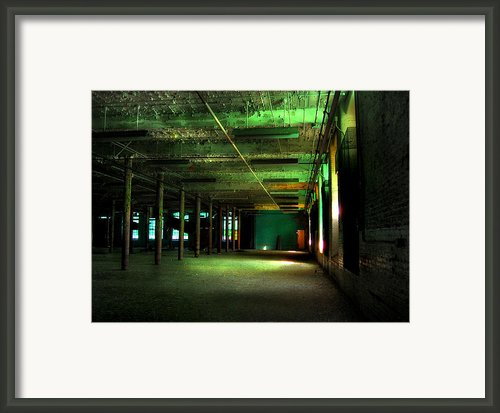 The Loray Firestone Mill  Framed Print By Tammy Cantrell