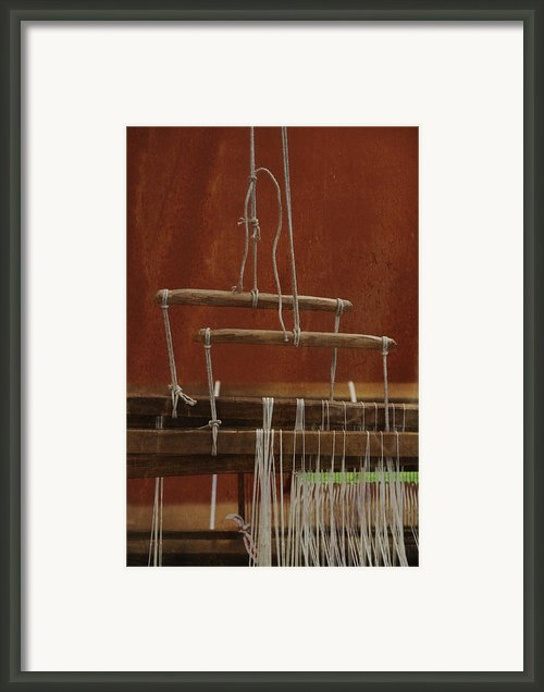 The Lot Of The Weaver Framed Print By Odd Jeppesen