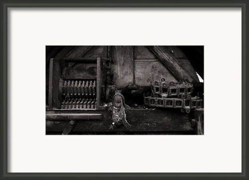 The Machine Framed Print By Tim Nichols
