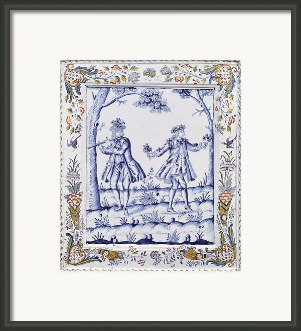 The Magic Flute Framed Print By French School