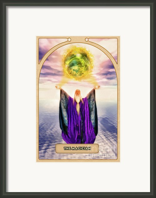The Magician Framed Print By John Edwards