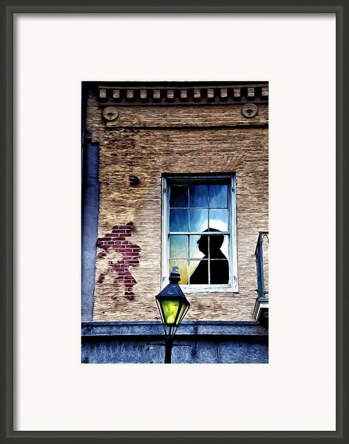 The Man Who Knew Too Much Framed Print By Bill Cannon