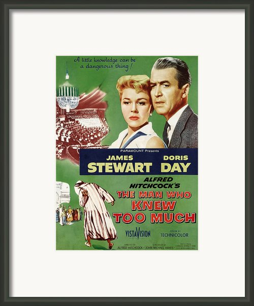 The Man Who Knew Too Much, Top Framed Print By Everett