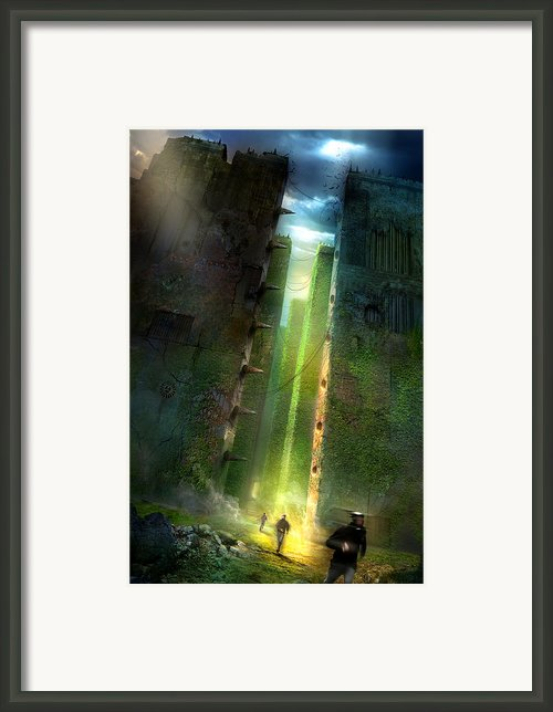 The Maze Runner Framed Print By Philip Straub