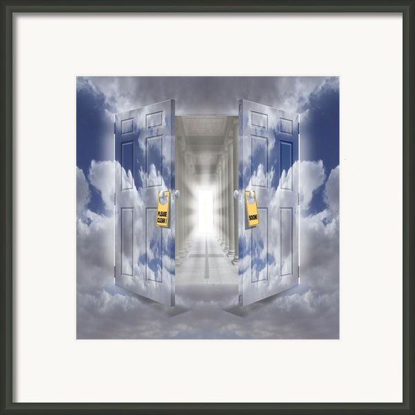 The Message Framed Print By Mike Mcglothlen