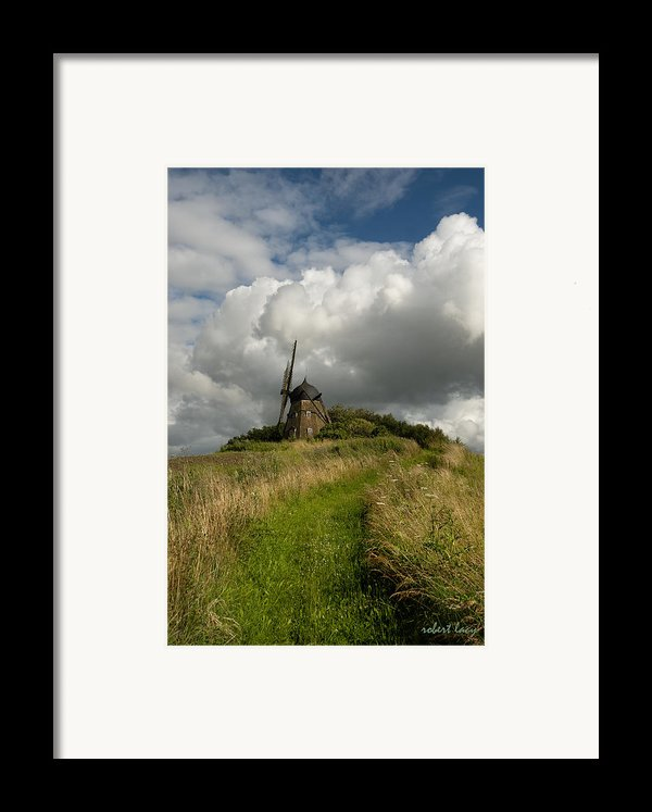 The Mill At Aarup Framed Print By Robert Lacy