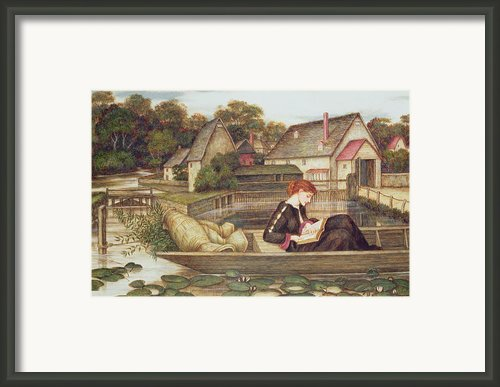 The Mill Framed Print By John Roddam Spencer Stanhope