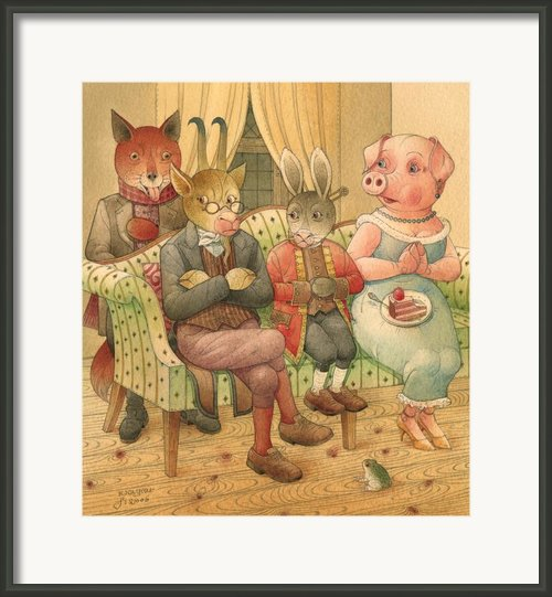 The Missing Picture17 Framed Print By Kestutis Kasparavicius