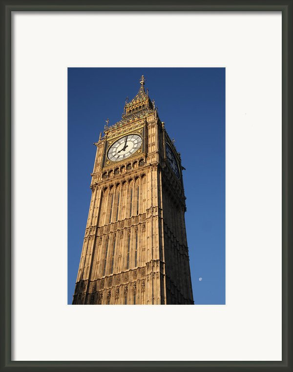 The Morning Tolls Framed Print By Jez C Self