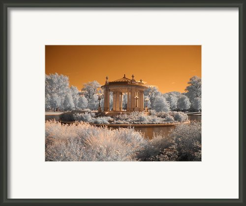 The Muny At Forest Park Framed Print By Jane Linders