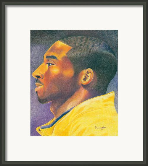 The Mvp Framed Print By Keith Burnette