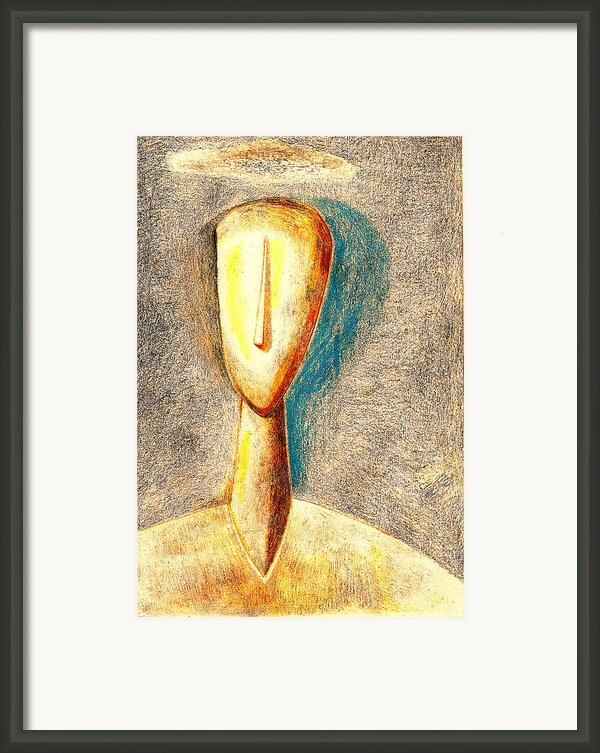 The Nameless And Faceless Framed Print By Al Goldfarb