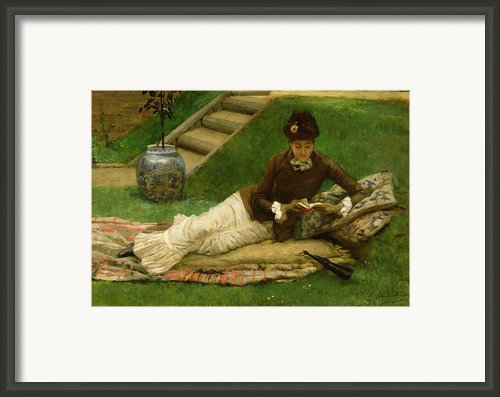 The Novel Framed Print By Frank Dicey