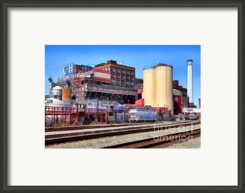 The Old C And H Pure Cane Sugar Plant In Crockett California . 5d16770 Framed Print By Wingsdomain Art And Photography